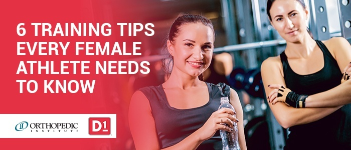 6 Training Tips Every Female Athlete Needs to Know