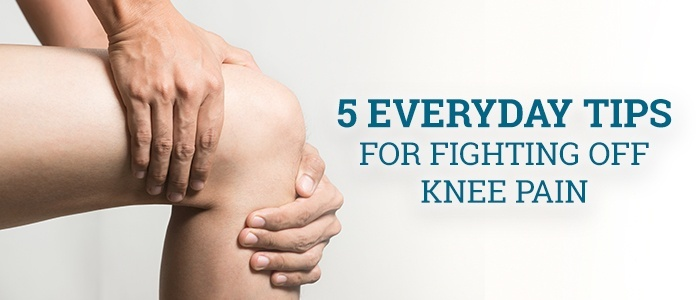 5 Everyday Tips for Fighting Off Knee Pain