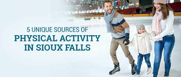 5 Unique Sources of Physical Activity in Sioux Falls