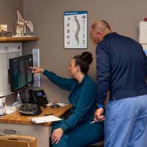 Nursing staff of Orthopedic Institute