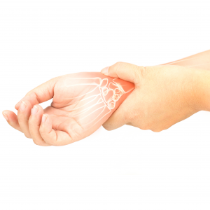 Person with Carpal Tunnel