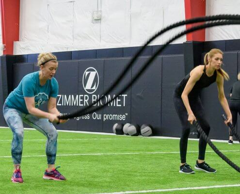 Adult strength training at the Orthopedic Institute Performance facility
