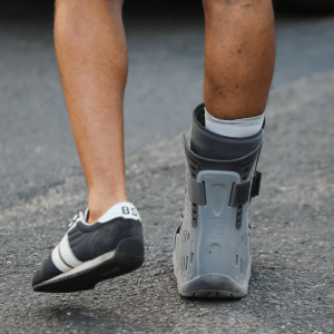 Person recovery from Achilles Tendon Rupture