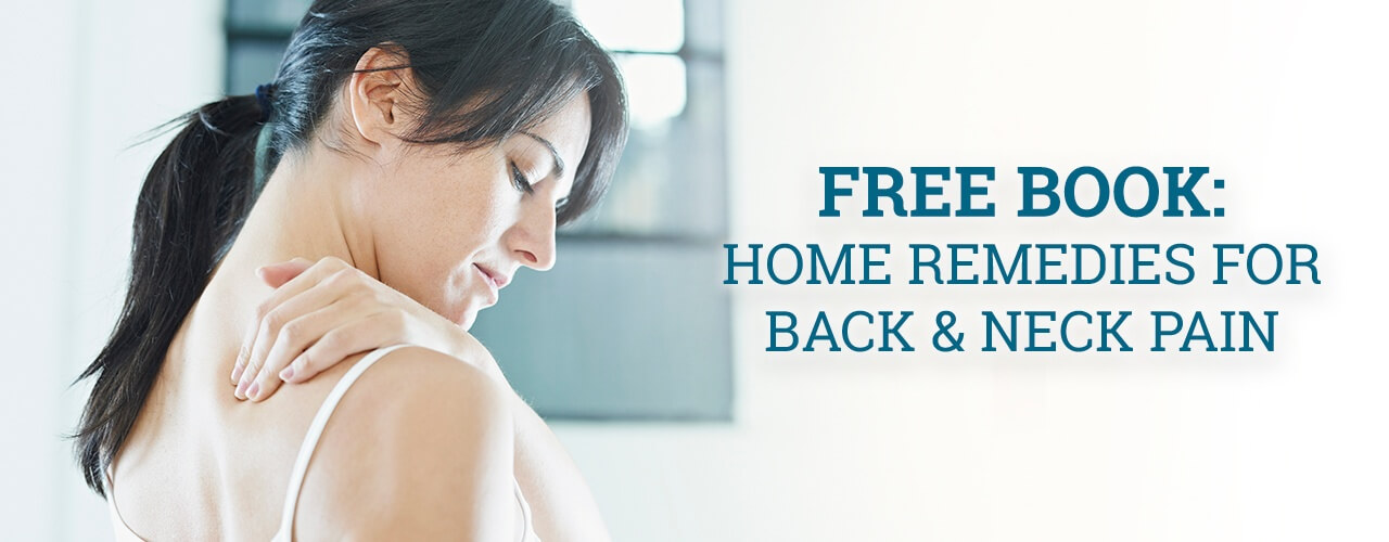 Free Book: Home Remedies for Back & Neck Pain